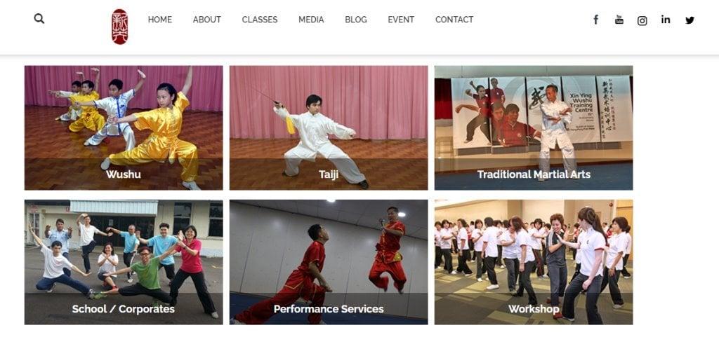 SG Wushu Top Wushu Training Centres in Singapore
