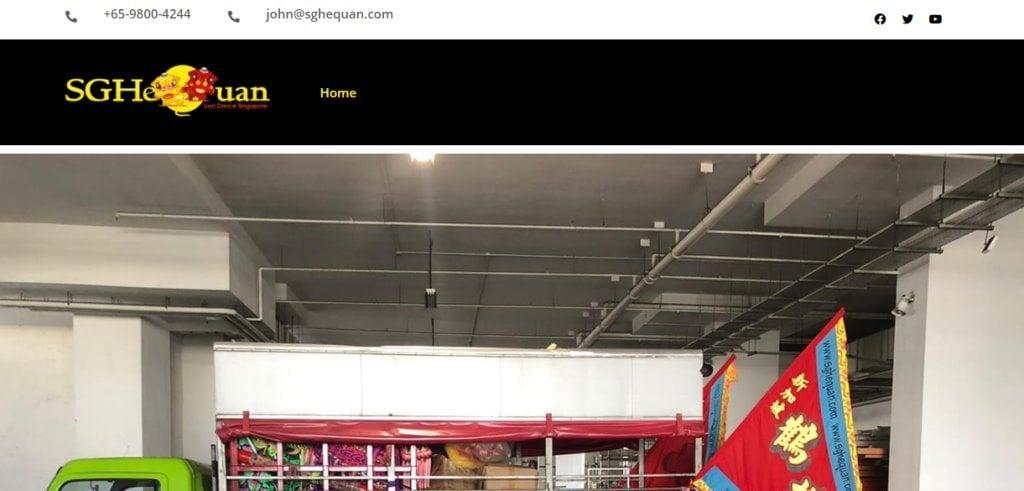 Sg Hequan Top Wushu Training Centres in Singapore