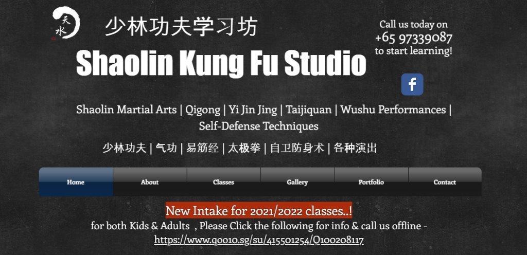Shaolin Kung Fu Top Wushu Training Centres in Singapore