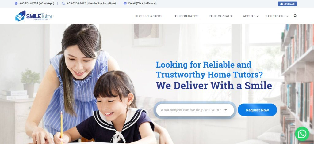 Smile Tutor Top Malay Tuition Centres in Singapore