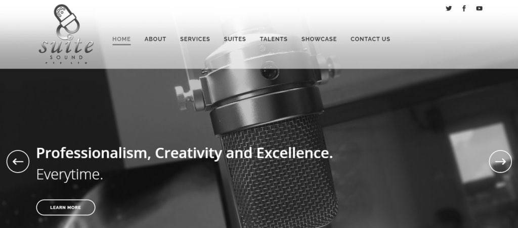 Suite Sound Top Music Production Service Providers in Singapore
