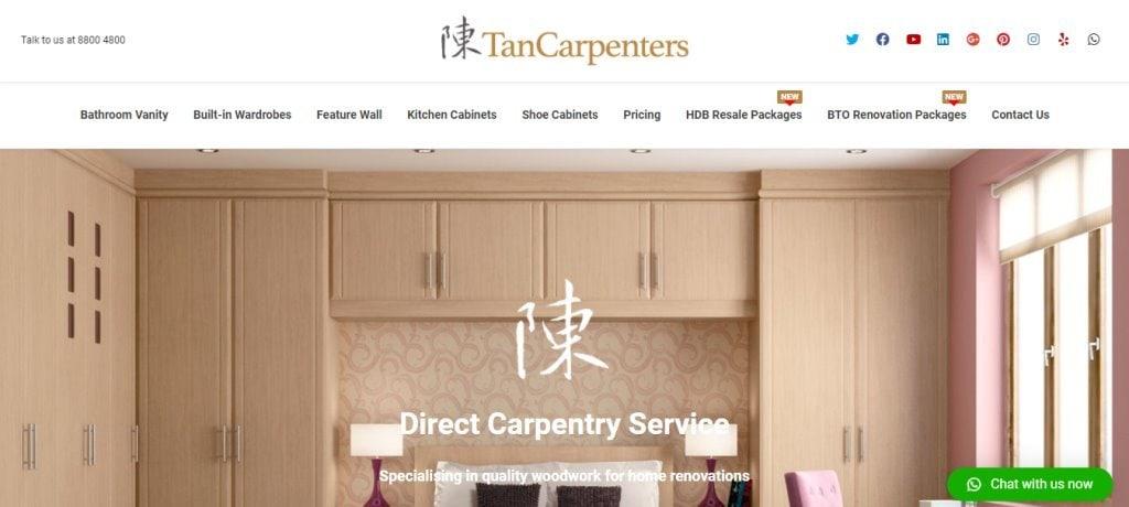 Tan Carpenters Top Carpentry Service Providers in Singapore