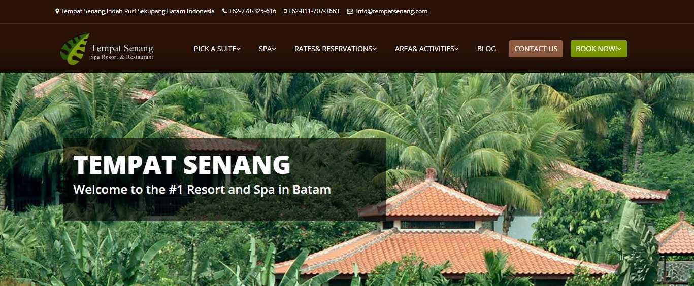 Tempat Senang Top Batam Hotels and Resorts