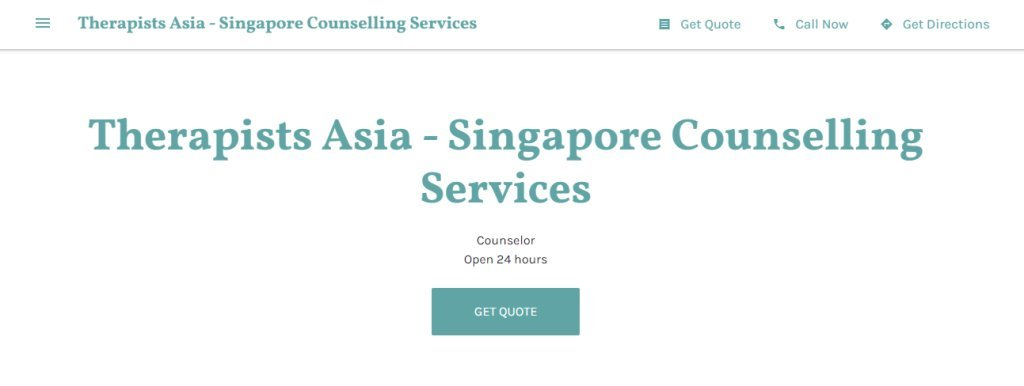 Therapist Asia Top Relationship Counselling Services in Singapore