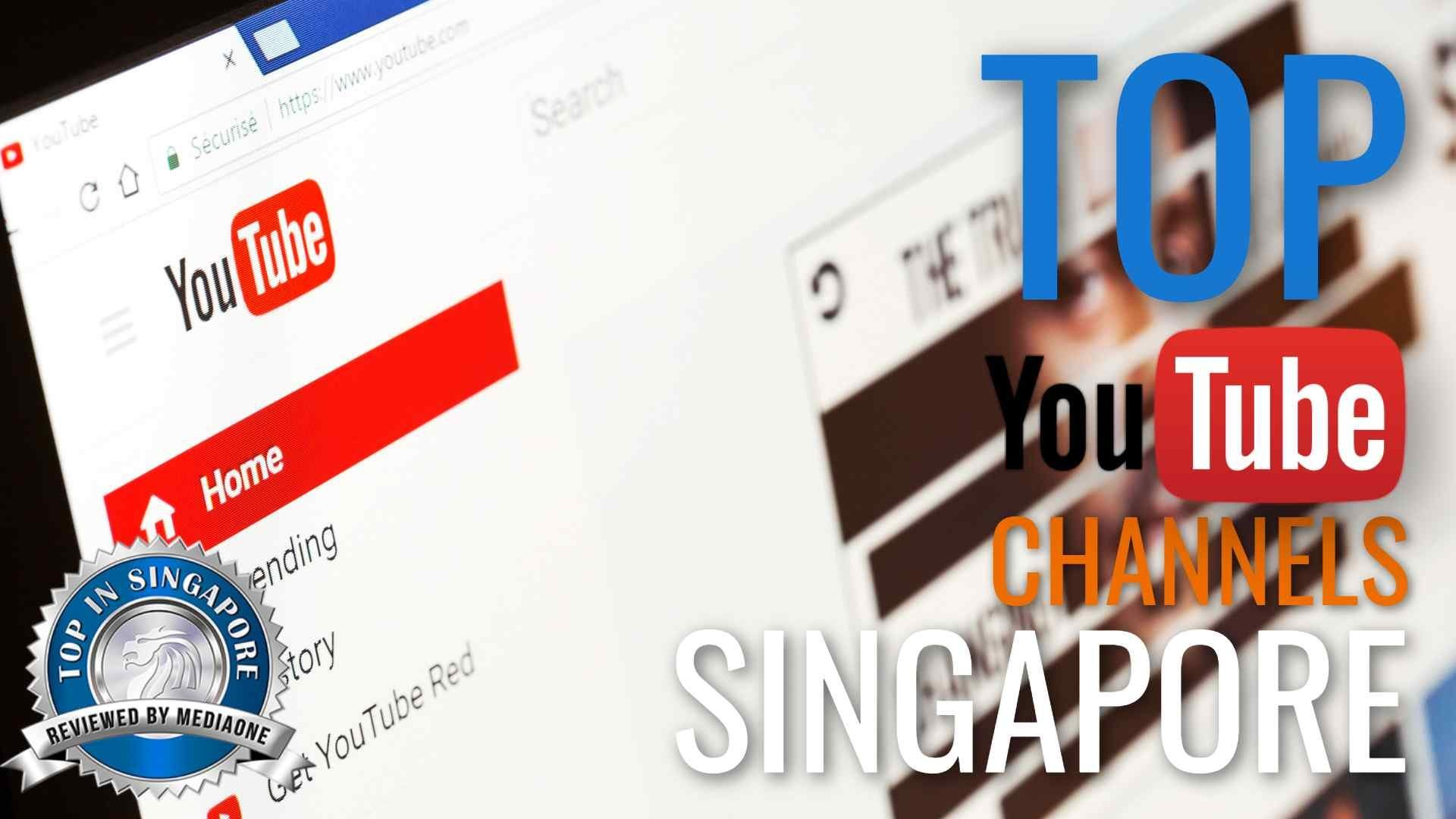 Top YouTube Channels in Singapore