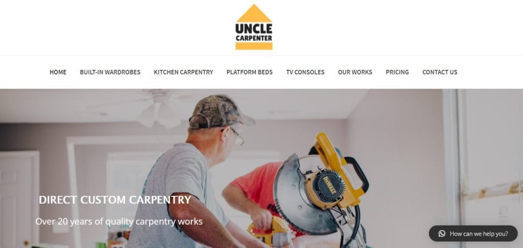 Uncle Carpenter Top Carpentry Service Providers in Singapore