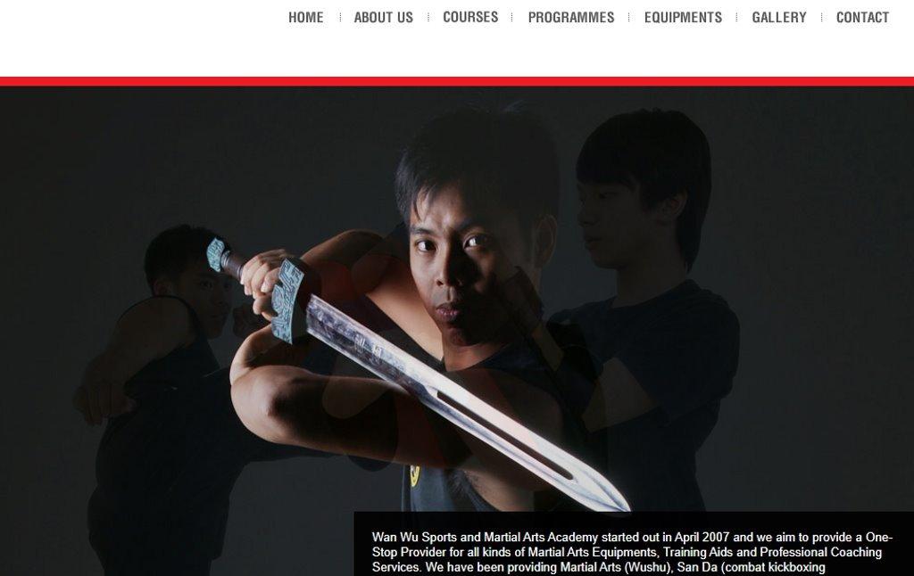 WanWu Sports Top Wushu Training Centres in Singapore