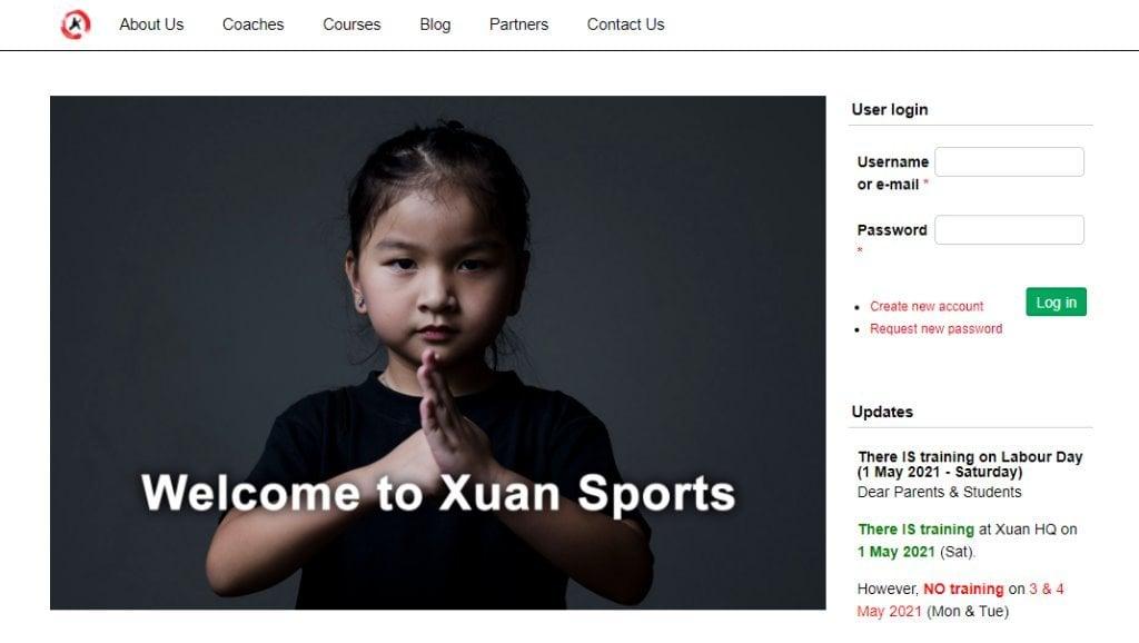 Xuan Sport Top Wushu Training Centres in Singapore