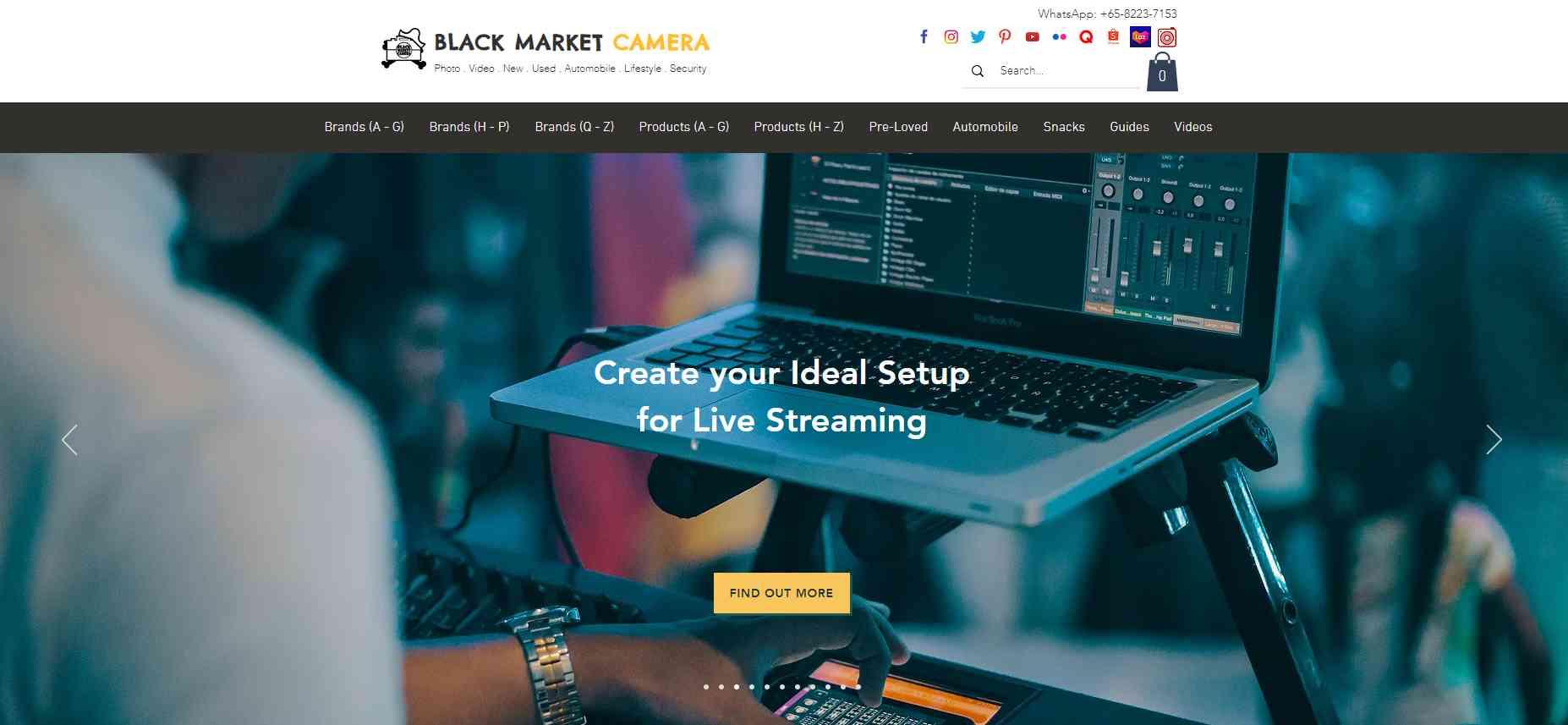 black market camera Top Camera Shops in Singapore