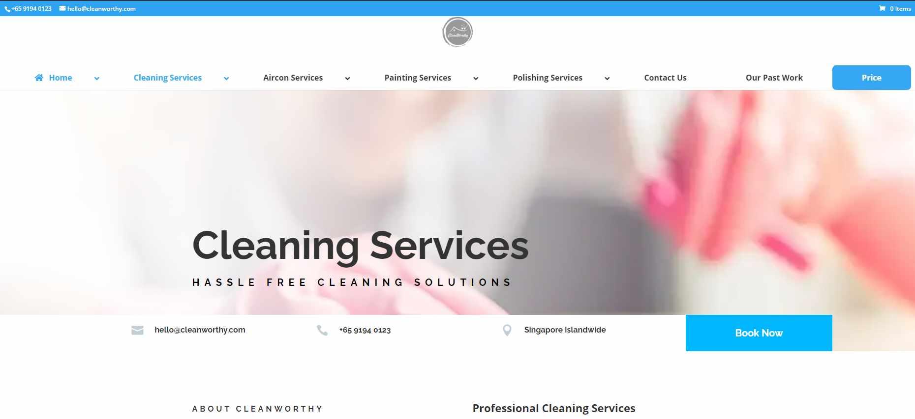 cleanworthy Top Epoxy Flooring Provider in Singapore