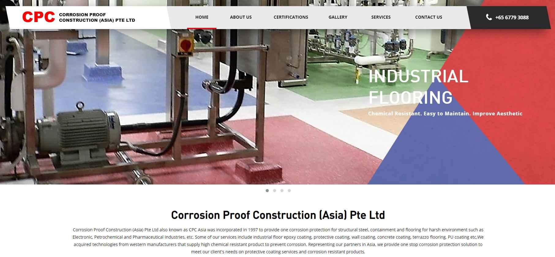 cpc asia Top Epoxy Flooring Provider in Singapore