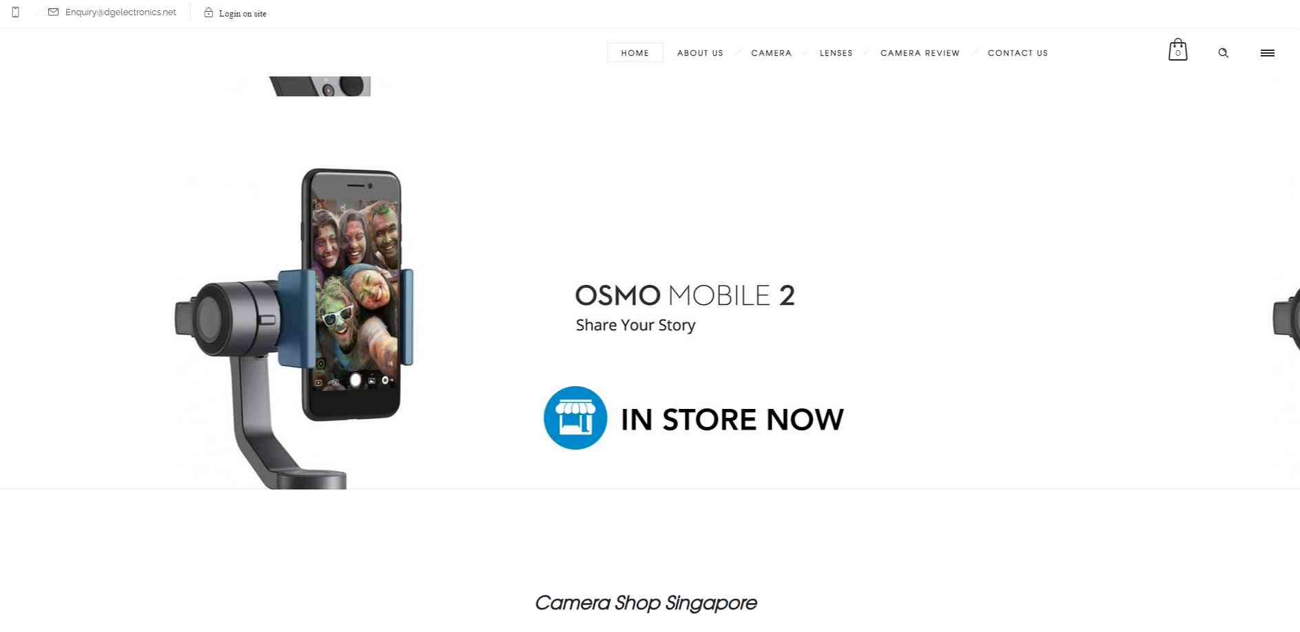 dg electornics Top Camera Shops in Singapore