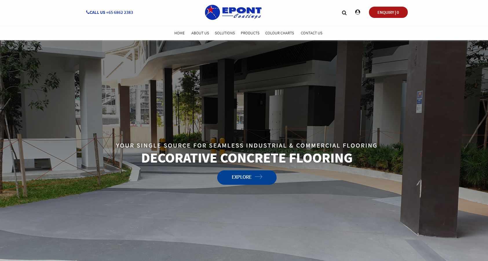 epont Top Epoxy Flooring Provider in Singapore