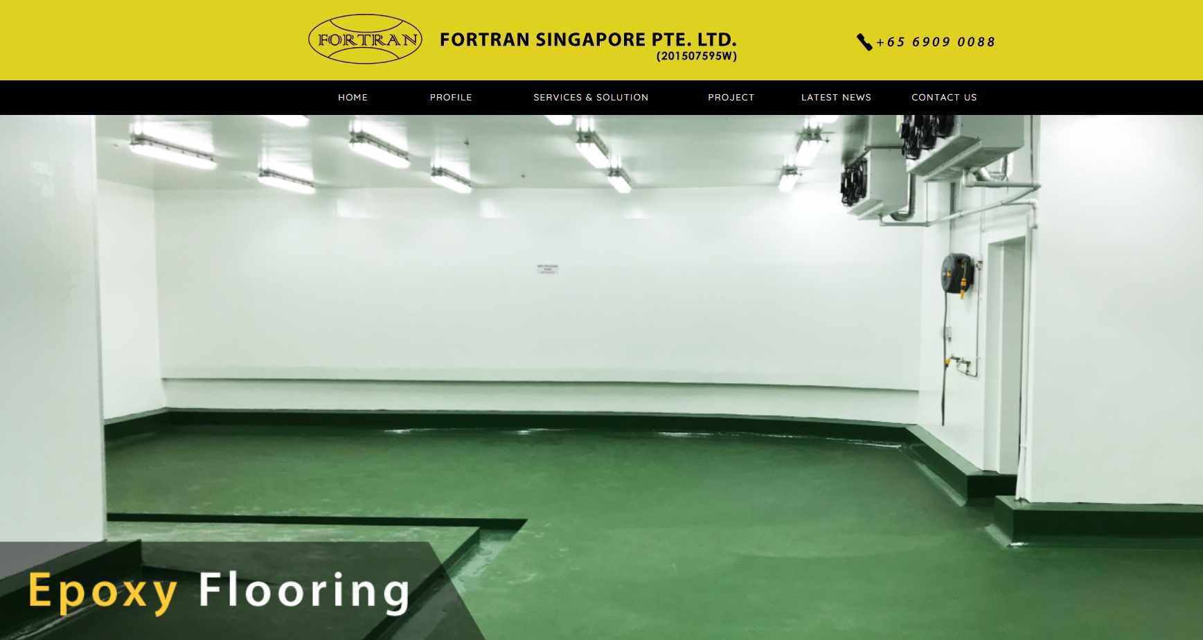 fortran singapore Top Epoxy Flooring Provider in Singapore