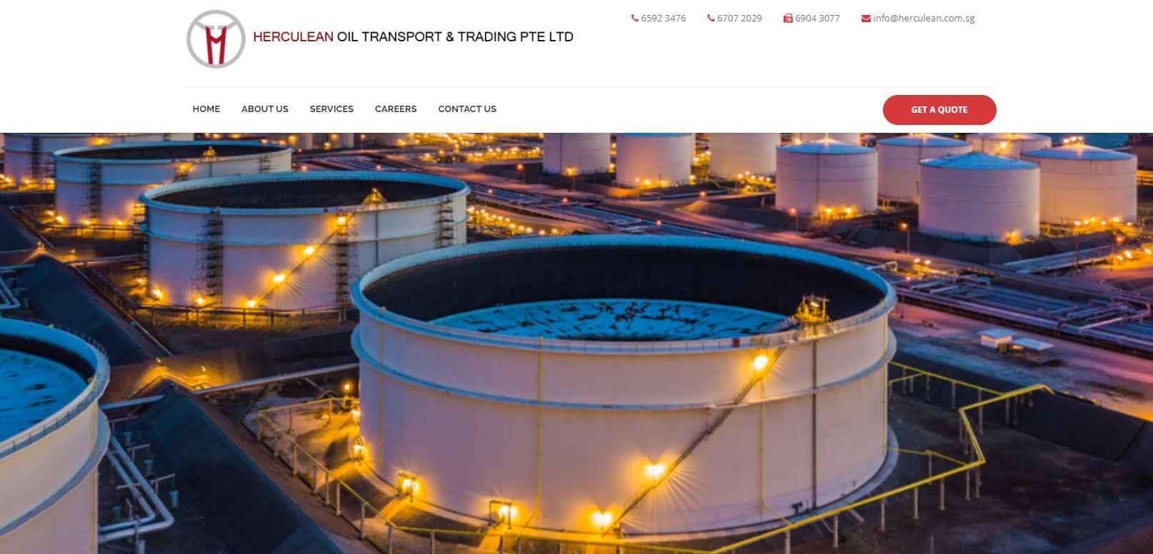 herculean Top Fuel Suppliers in Singapore