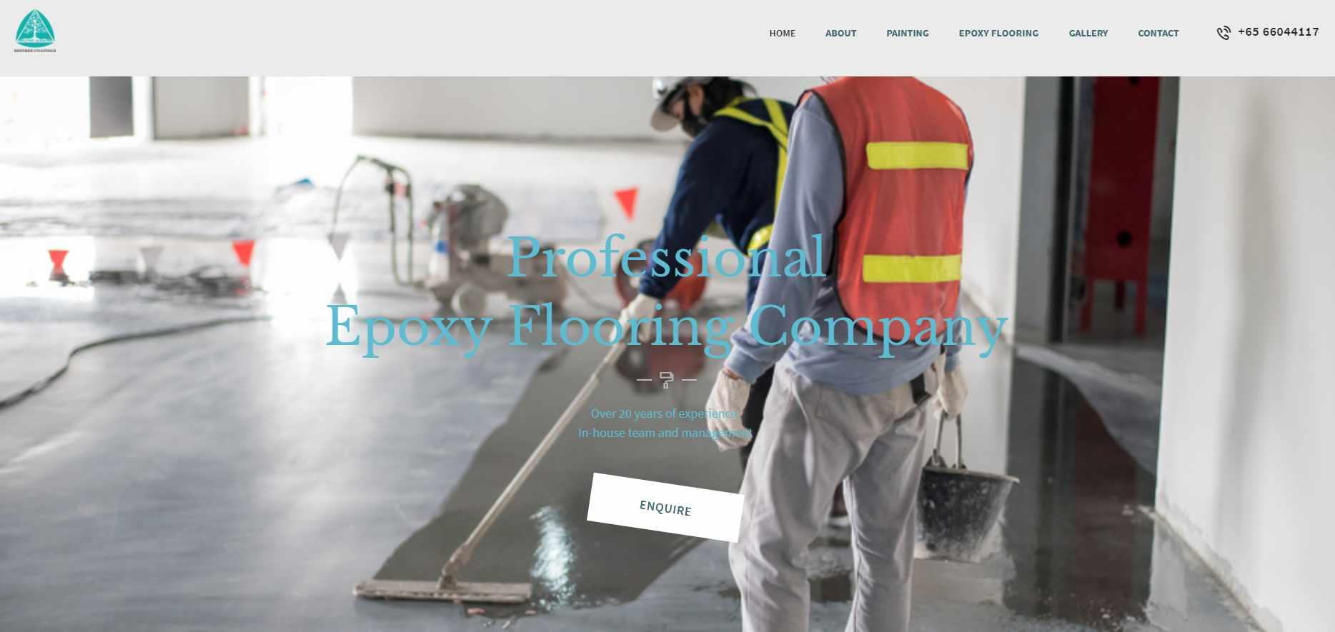 mistree coating Top Epoxy Flooring Provider in Singapore