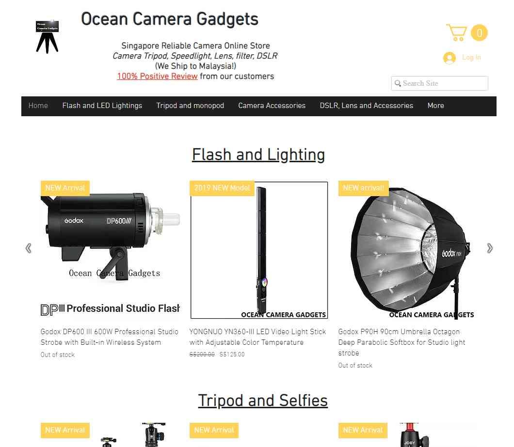 ocean camera gadgets Top Camera Shops in Singapore