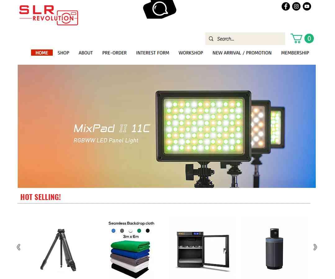 slr revolution Top Camera Shops in Singapore