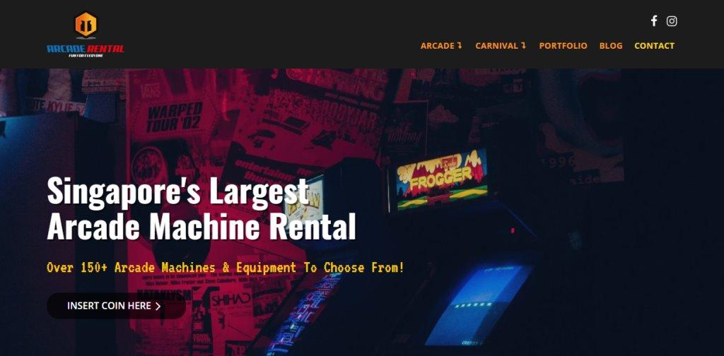 Arcade Rental Top Arcades in Singapore