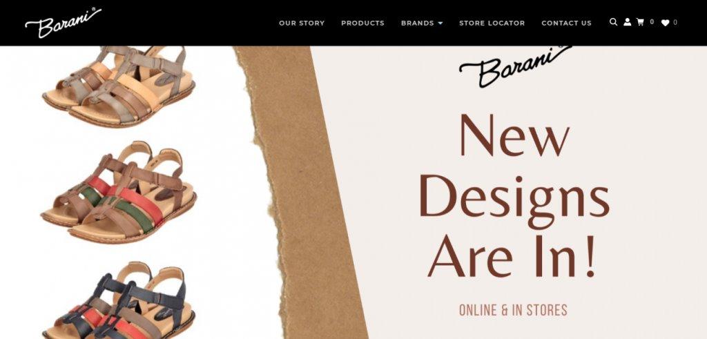 Barani Top Shoe Brands in Singapore