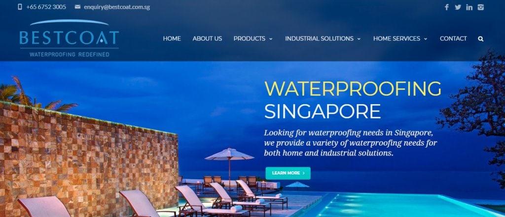 Best Coat Top Waterproofing Services in Singapore
