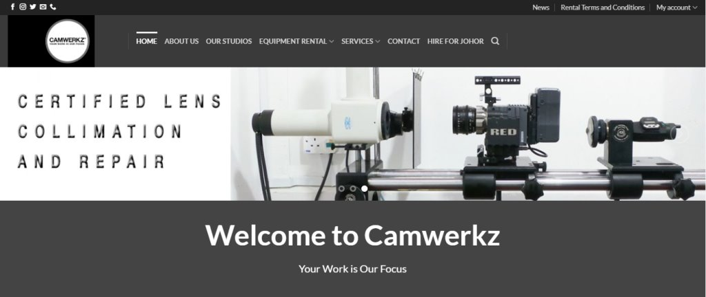 Camwerkz Top Drone Rental Service Providers in Singapore