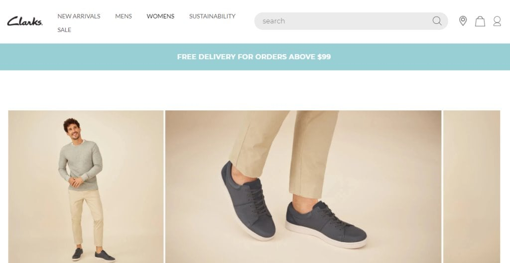 Clarks Top Shoe Brands in Singapore