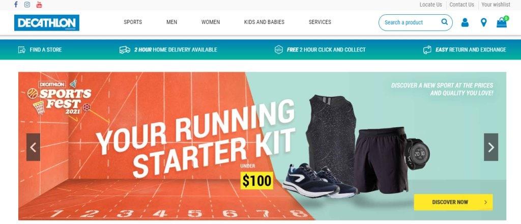 Decathlon Top Shoe Retailers in Singapore