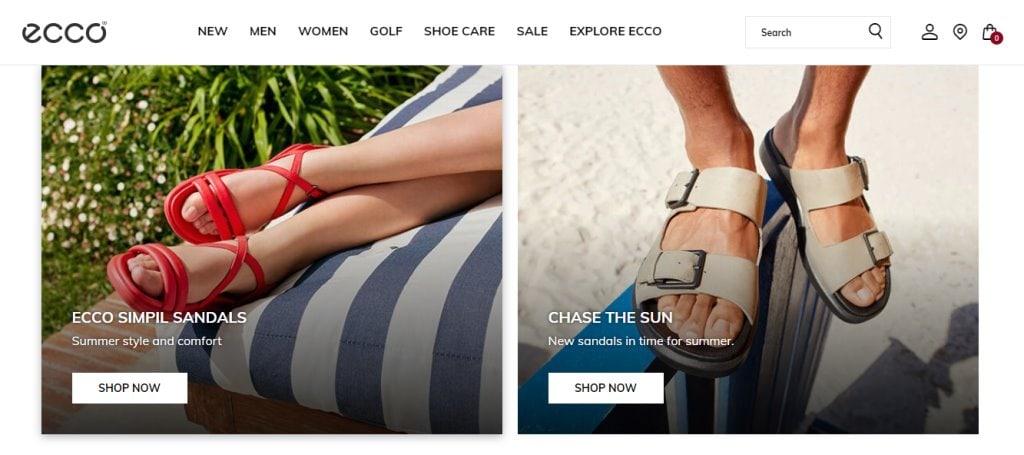 Ecco Top Shoe Brands in Singapore