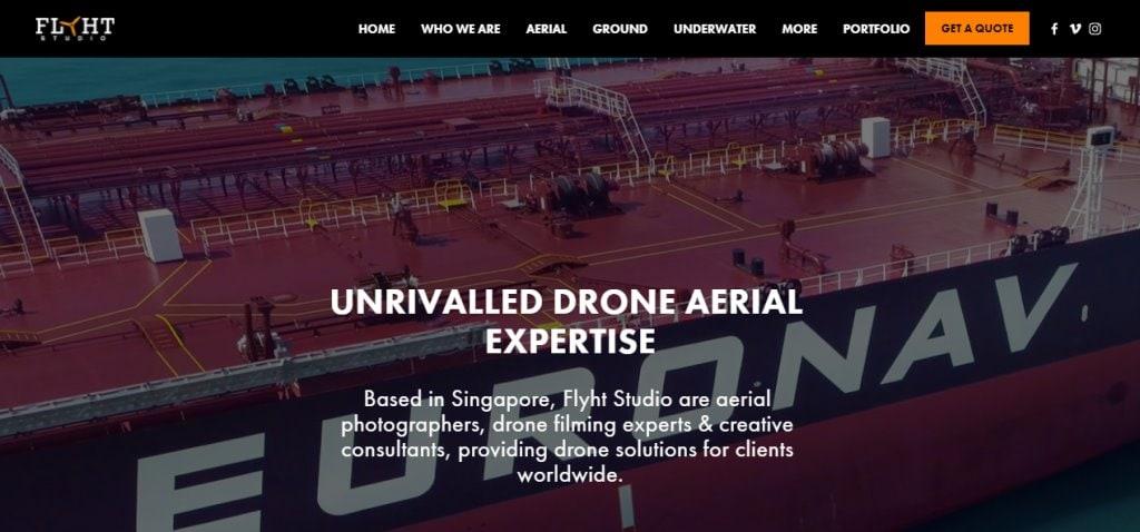 Flyht Studio Top Drone Rental Service Providers in Singapore
