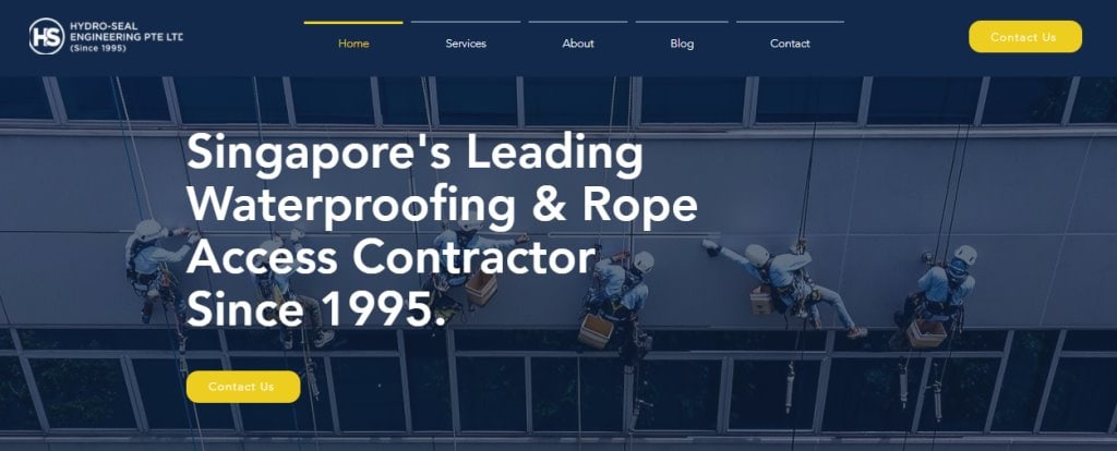 Hydro seal Top Waterproofing Services in Singapore