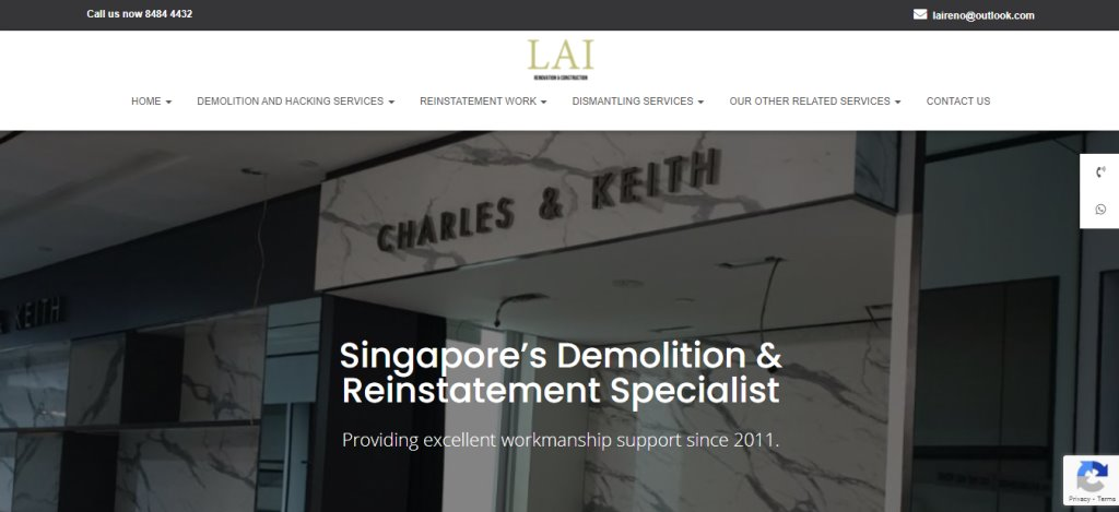 Laireno Top Disposal Services in Singapore