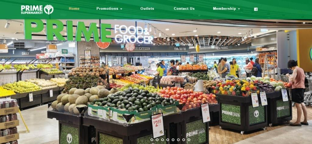 Prime supermarket Top Minimarts in Singapore