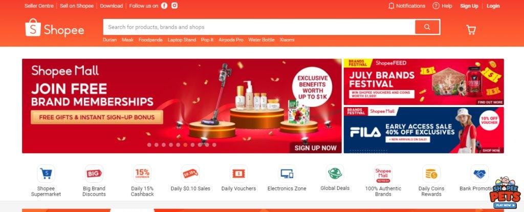 Shopee Top Minimarts in Singapore