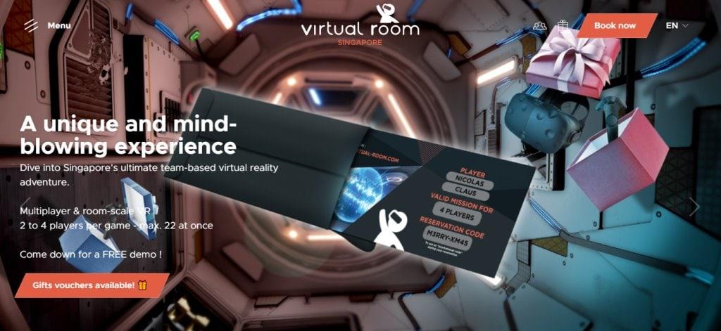 Virtual Room Top Arcades in Singapore