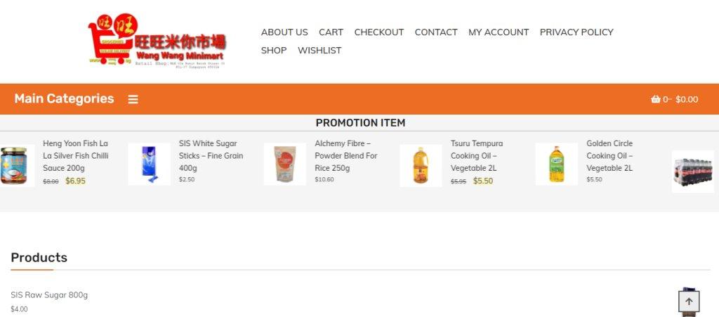 Wang wang minimart Top Minimarts in Singapore