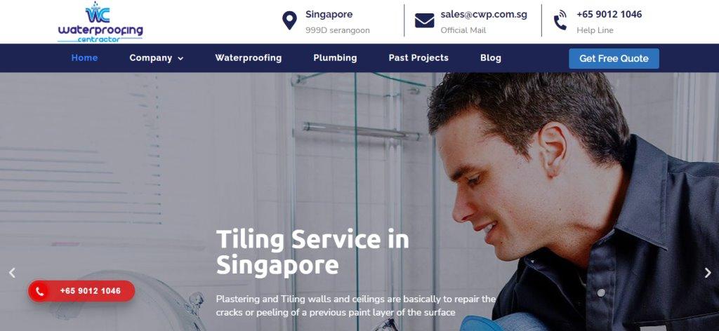 Waterproofing Contractor Top Waterproofing Services in Singapore