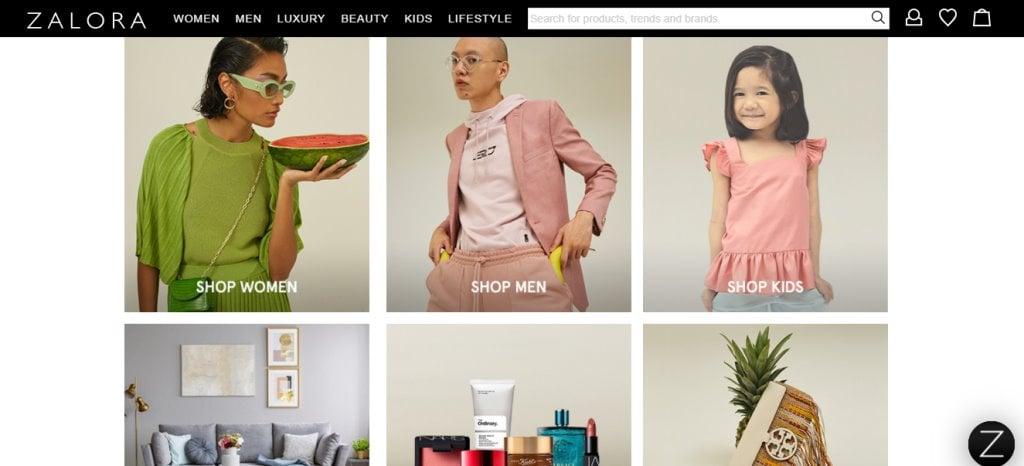 Zalora Top Shoe Brands in Singapore