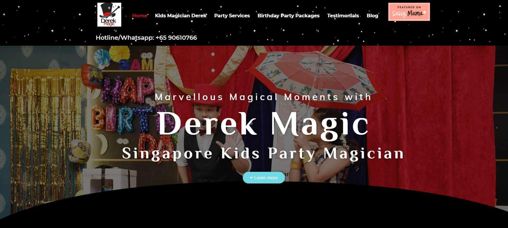 derek magic Top Magicians in Singapore