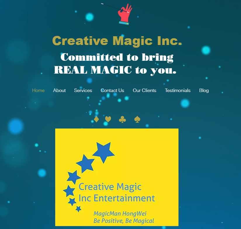 hongwei Top Magicians in Singapore