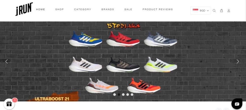 iRun Top Shoe Retailers in Singapore