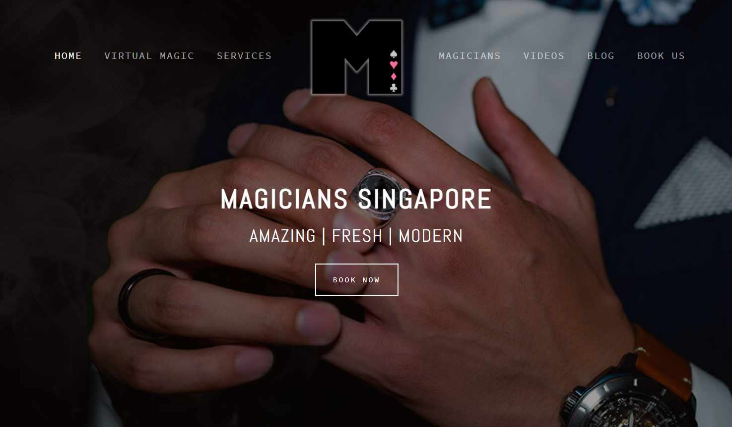 magician of singapore Top Magicians in Singapore
