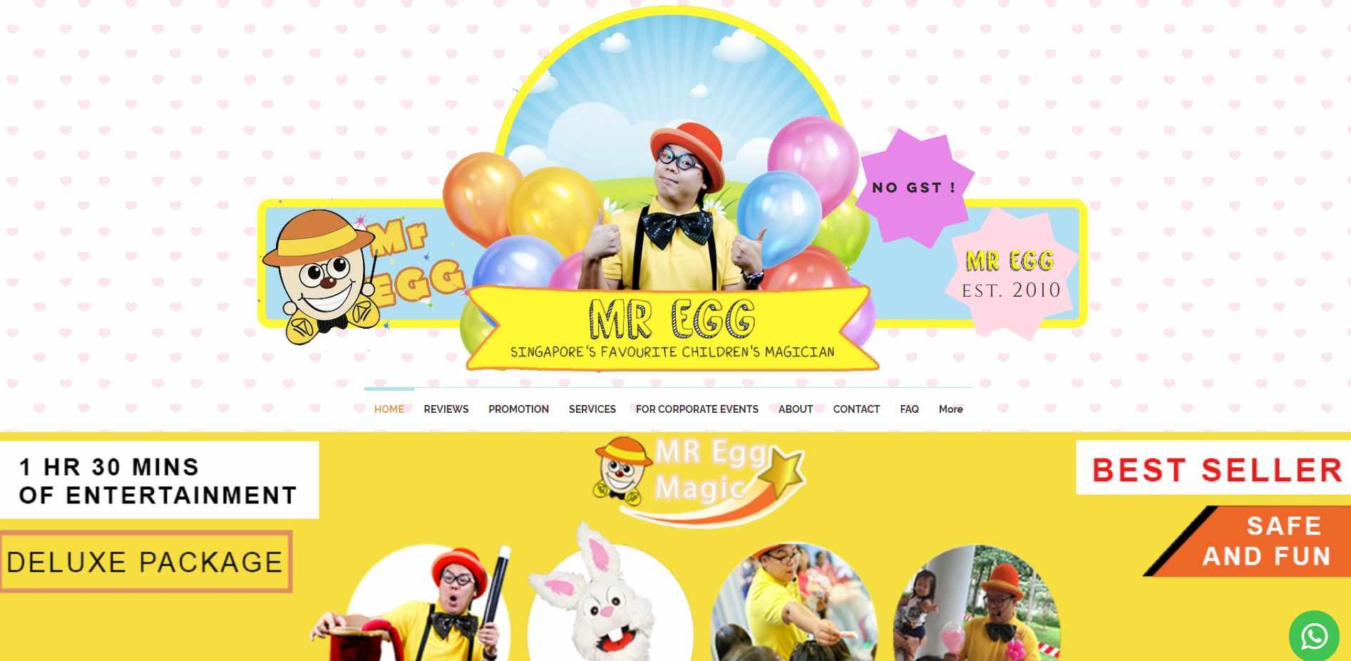mr egg magic Top Magicians in Singapore