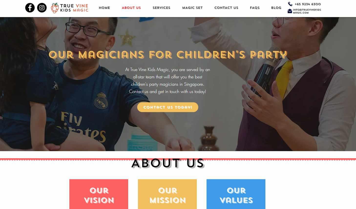true vines kid magic Top Magicians in Singapore