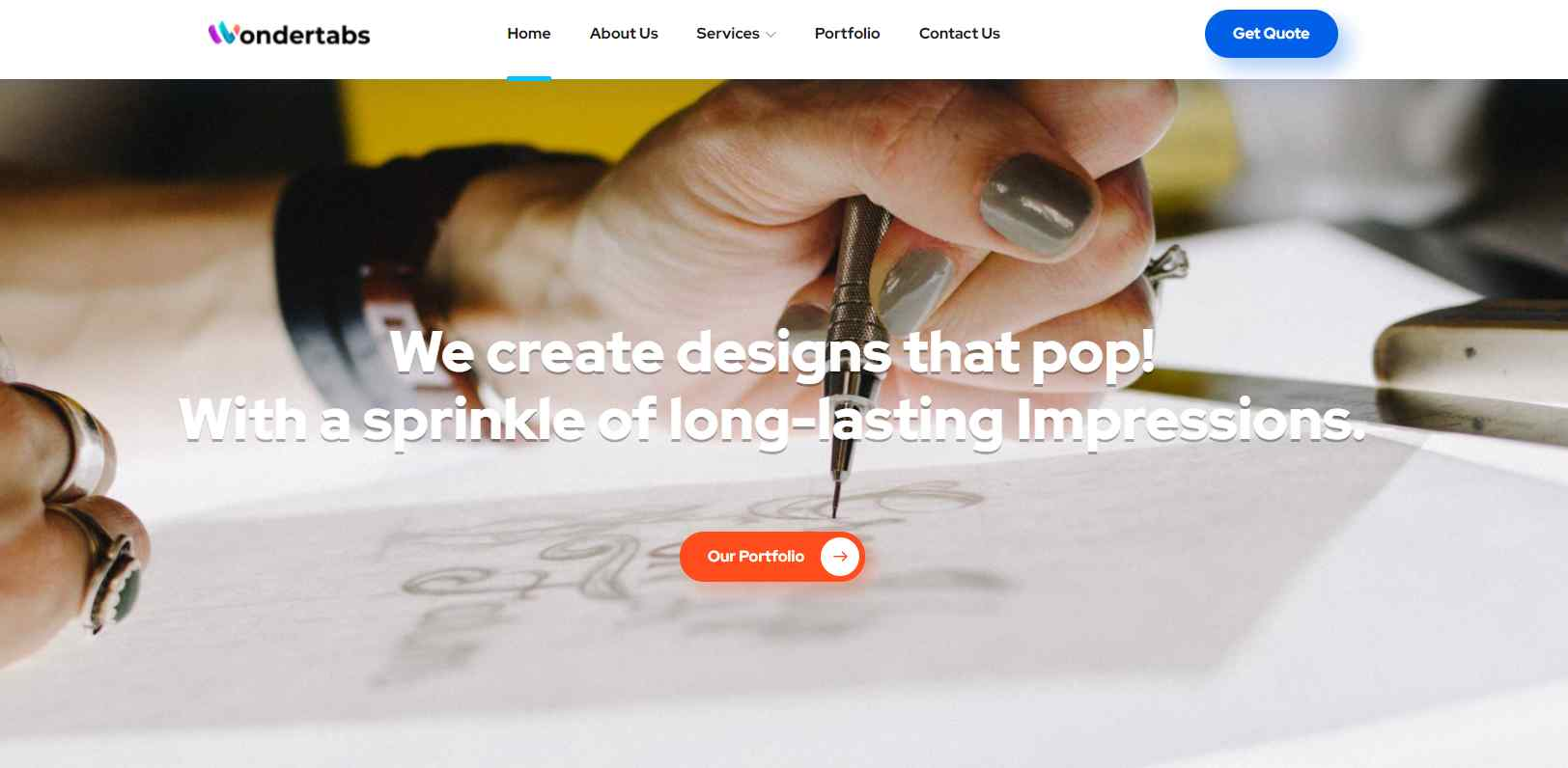 wonder tabs Top UX Design Service Providers in Singapore