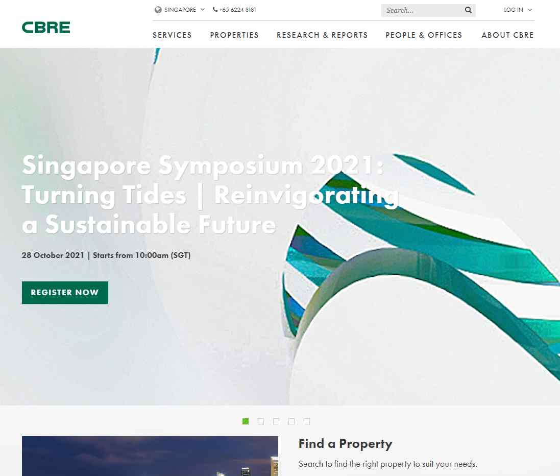 cbre Top Property Management Service Providers in Singapore